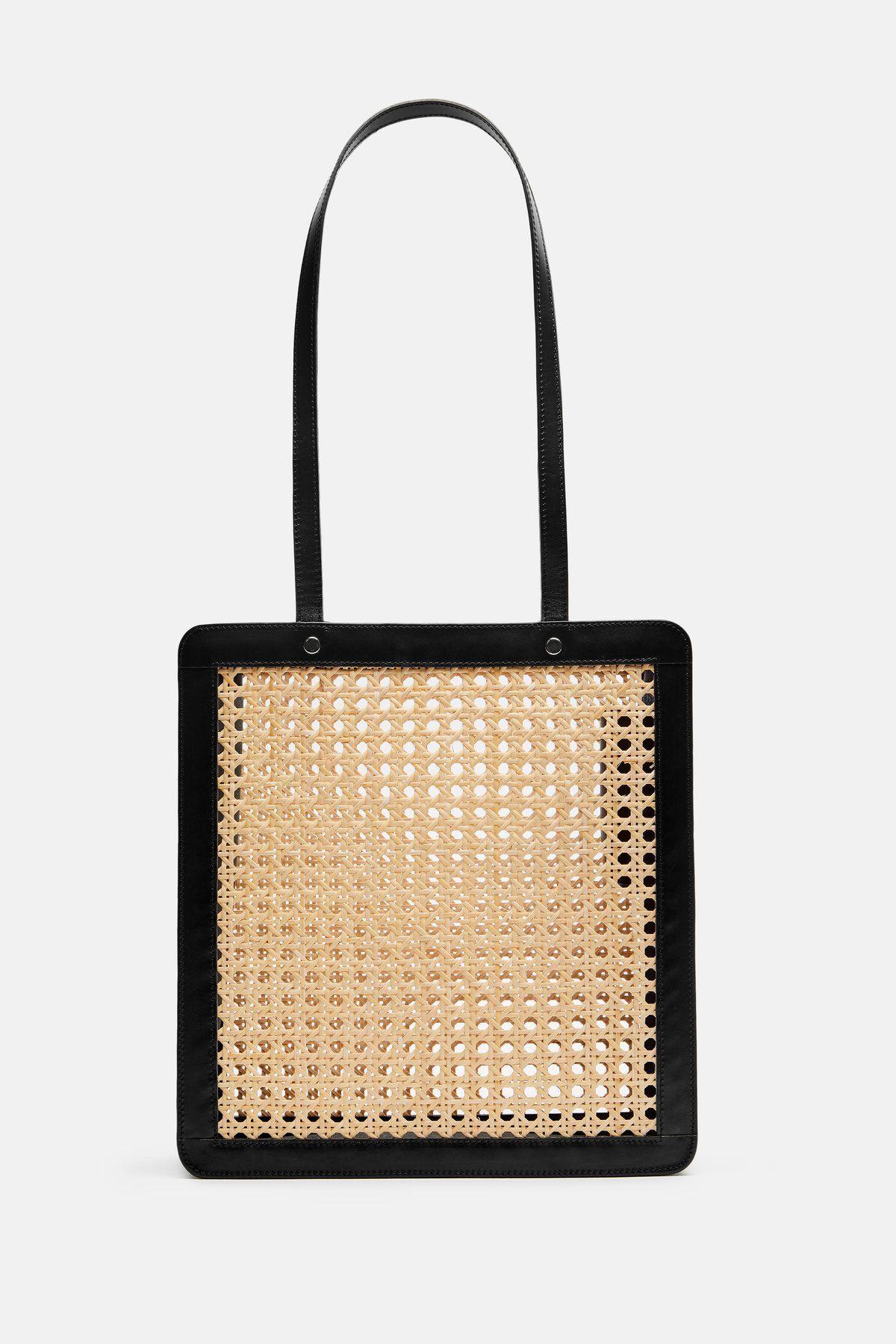 6a2e4a287 Rattan Bag Tall - Black in 2019 | SCD Covet | Bags, Rattan, Purses, bags