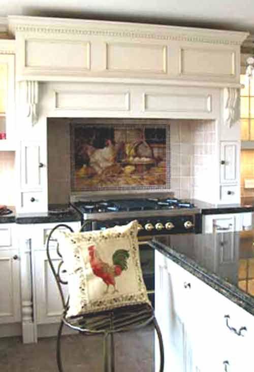 Kitchen Backsplash Tile Mural Accent Tiles