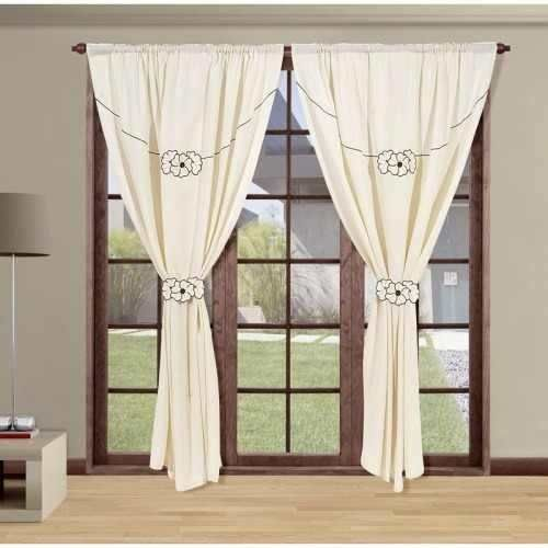 cortinas living comedor dormitorio listas para barral ...