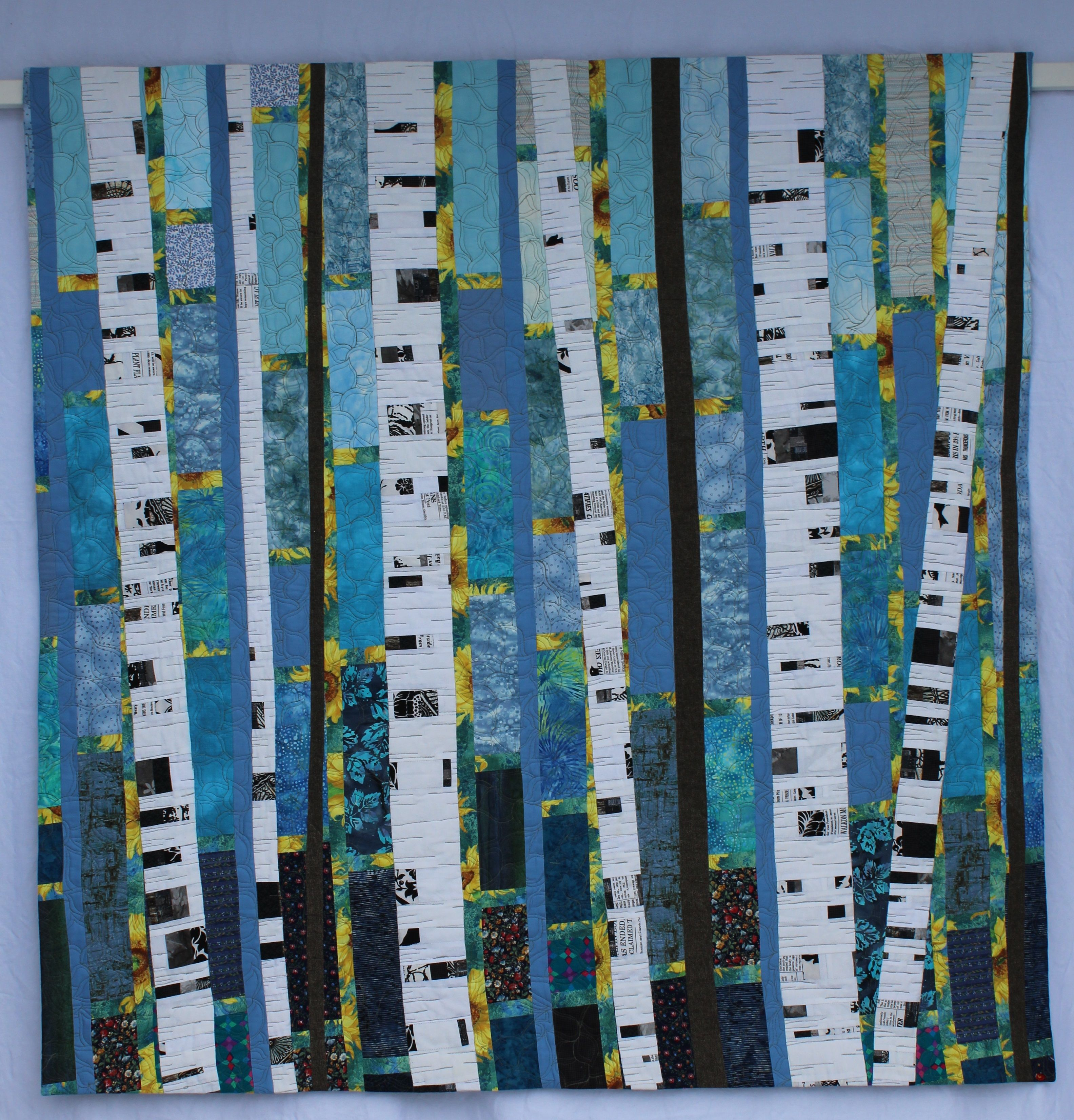 Birch Tree Quilt 1 Fall In 2020 Tree Quilt Art Quilts Tree Quilt Pattern
