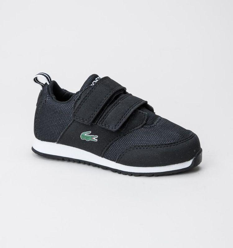232908ff49735 Lacoste L.ight 316 1 SPI Blk-Dk Grey boys-footwear