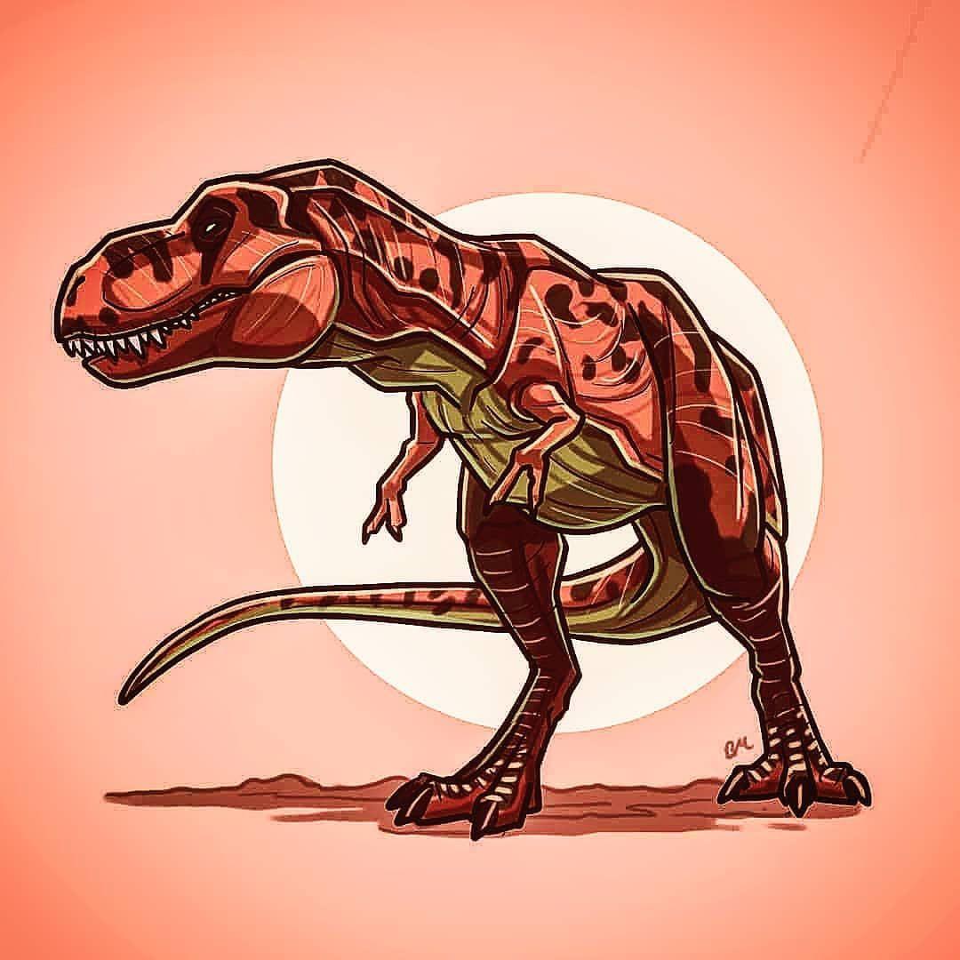 """@olive.the.dilophosaurus on Instagram: """"Trex edit credit @benjuhmuhn"""""""