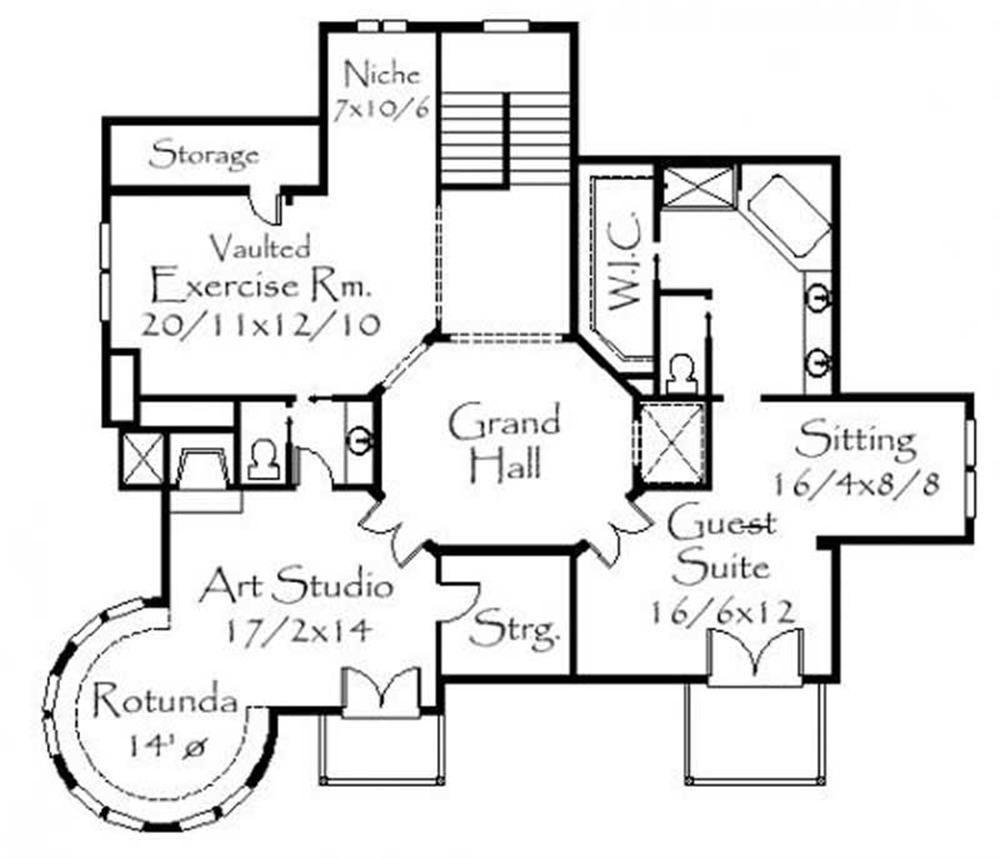 Large Images For House Plan 149 1130 Victorian House Plans Cottage Floor Plans House Plans
