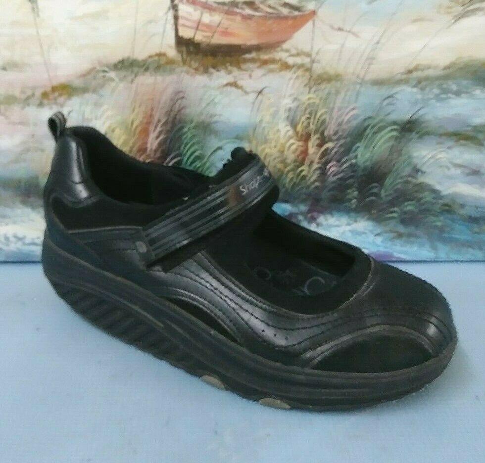 SKECHERS WOMENS SHAPE Ups Sneakers Mary Jane Toning Walking
