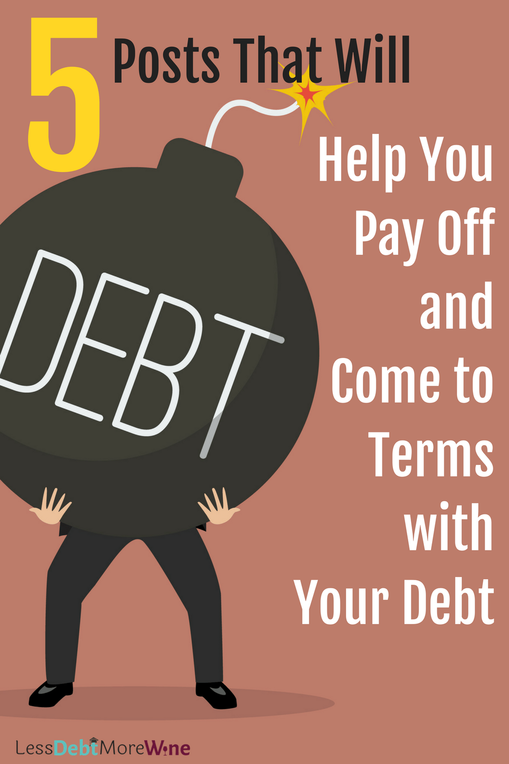 5 posts that will help you pay off your debt | how to pay off debt