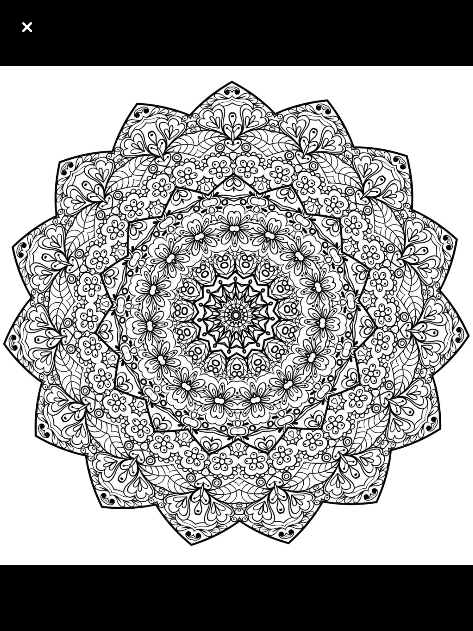 Pin By Bass Cadet On Mandalas Mandala Coloring Pages Coloring Pages Free Printable Coloring Pages