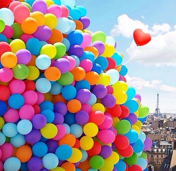 background, balloons, disney, eiffel tower, french, love, paris, travel, up, First Set on Favim.com