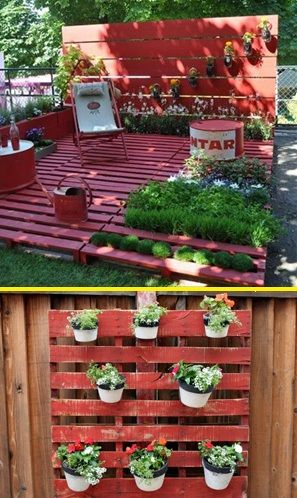 Ideas para reciclar pallets en el hogar hogar total - Reciclar palets para jardin ...