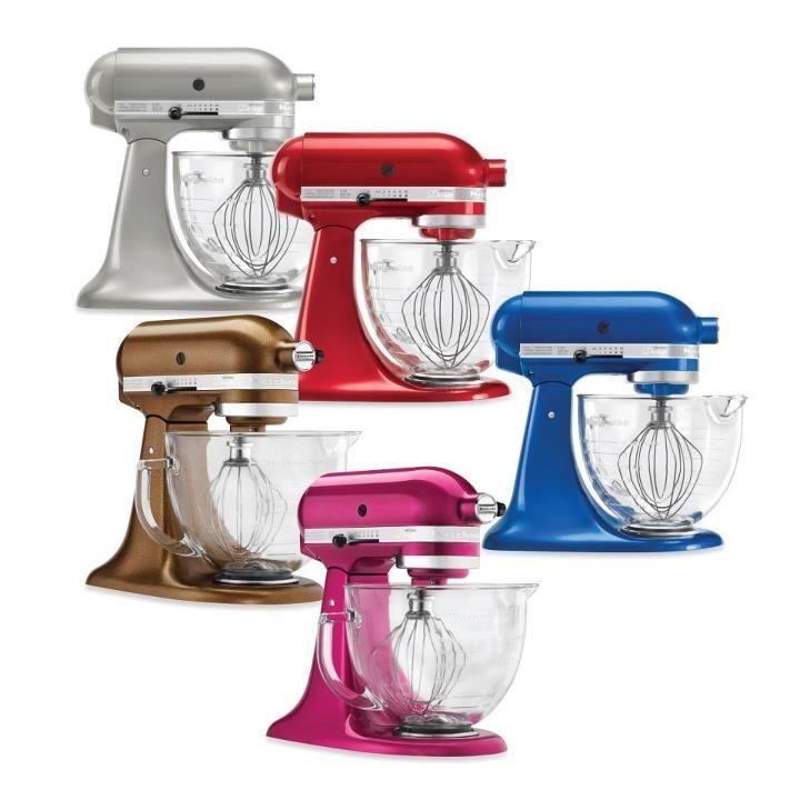 Colorful kitchen aid replacing kitchen countertops