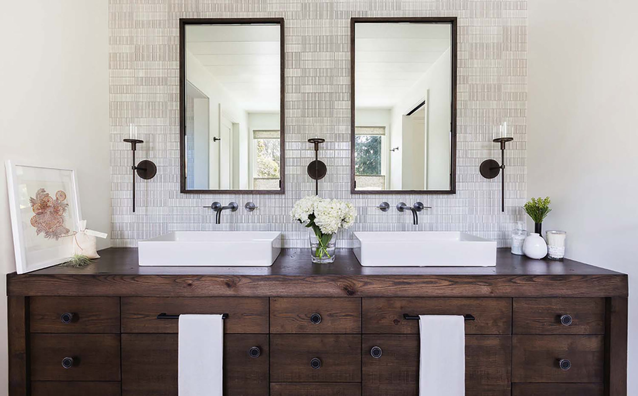 Let S Talk Vessel Sinks Wall Mount Faucets Emily Henderson