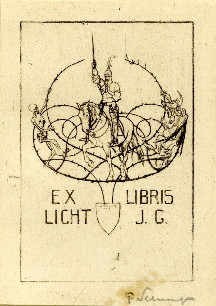 Ex Libris Bookplates Knight   Found on britishmuseum.org