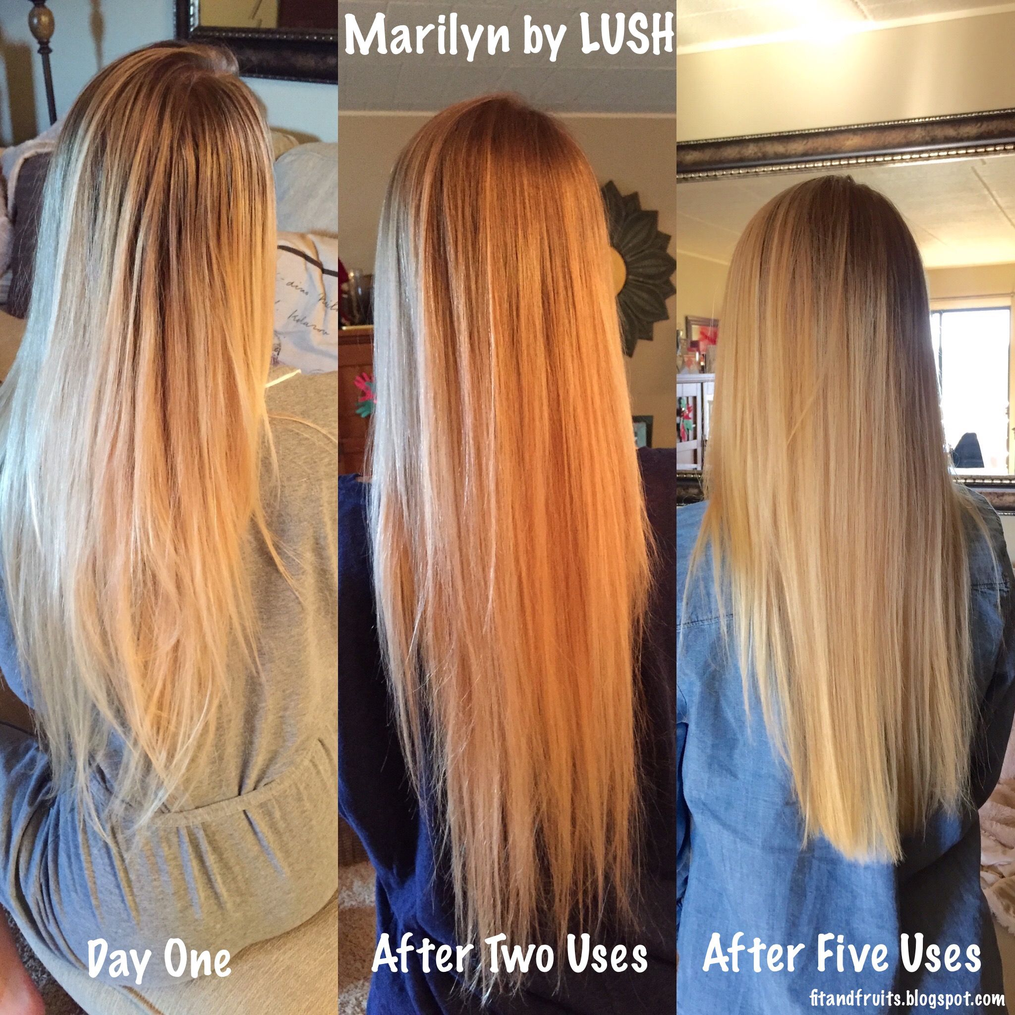 Marilyn By Lush Hair Lightener Review All Natural No Bleach Hair Lightening Product How To Lighten Hair Bleached Hair Lighten Hair Naturally