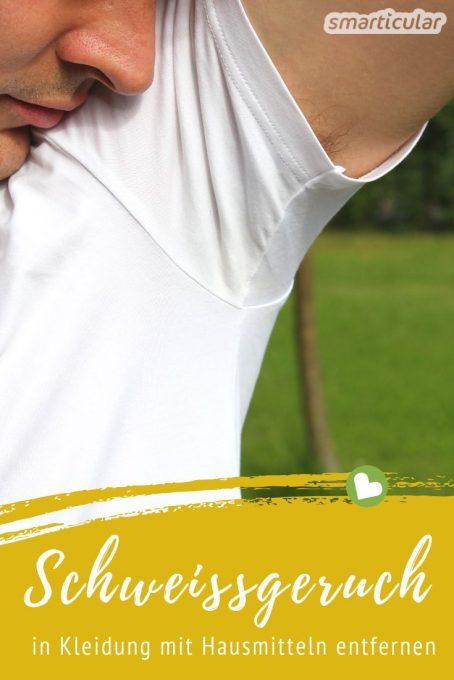 Schweißgeruch Aus T Shirt Entfernen