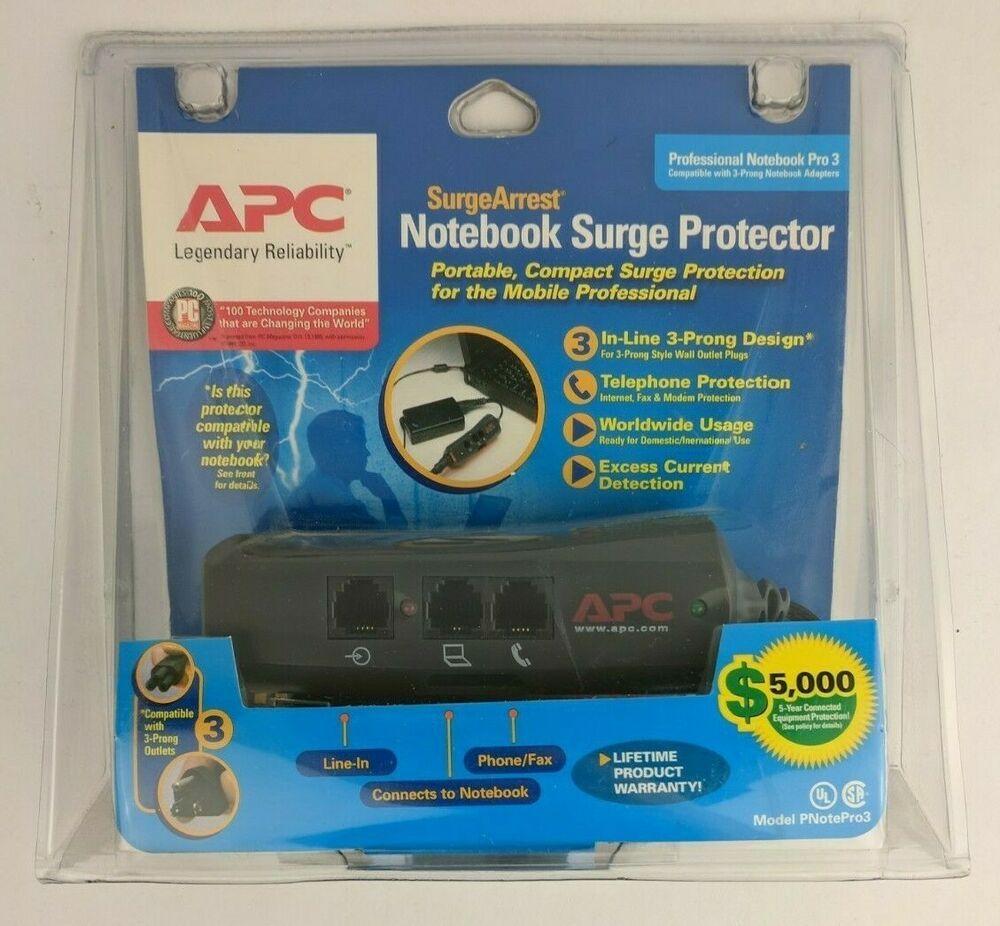 Ebay Sponsored Apc Surgearrest Professional Notebook Pro3 Notebook Pro Surge Prote Apc Cord Organization Technology