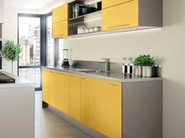 cuisine color e jaune hygena cuisine kitchen pinterest cuisines color es jaune et cuisines. Black Bedroom Furniture Sets. Home Design Ideas