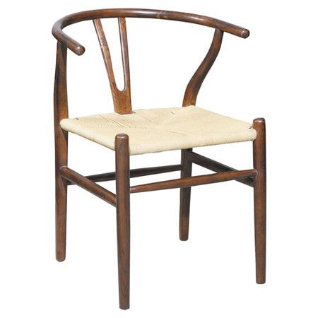 Found It At Allmodern Broomstick Arm Chair In Brown