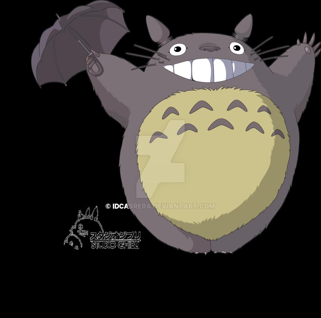 My Neighbour Totoro By Idcabrera D3ebolg Png 1024 1012 Tonari Dibujos Manualidades
