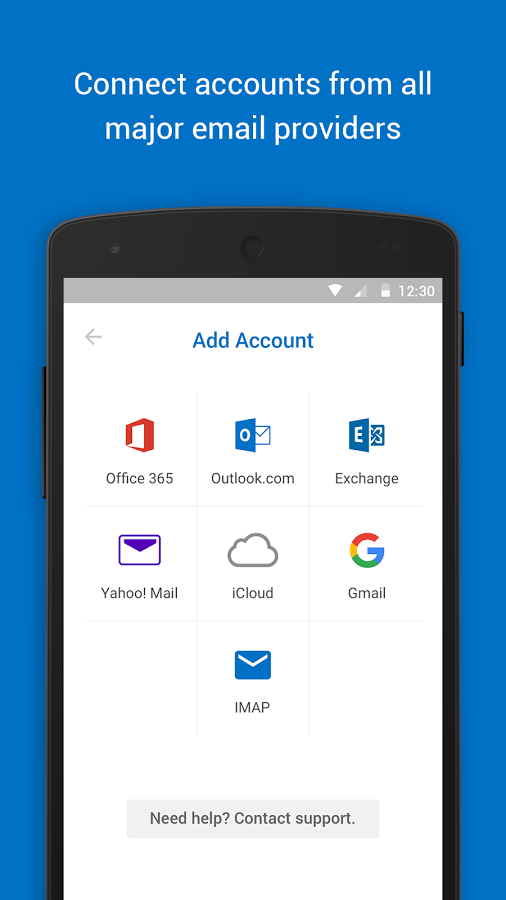 Microsoft Outlook Email on a BlackBerry Phone On your