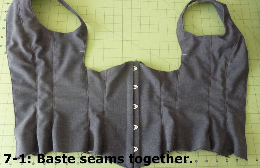 Corset for the business professional moldes pinterest - Ropa interior medieval ...