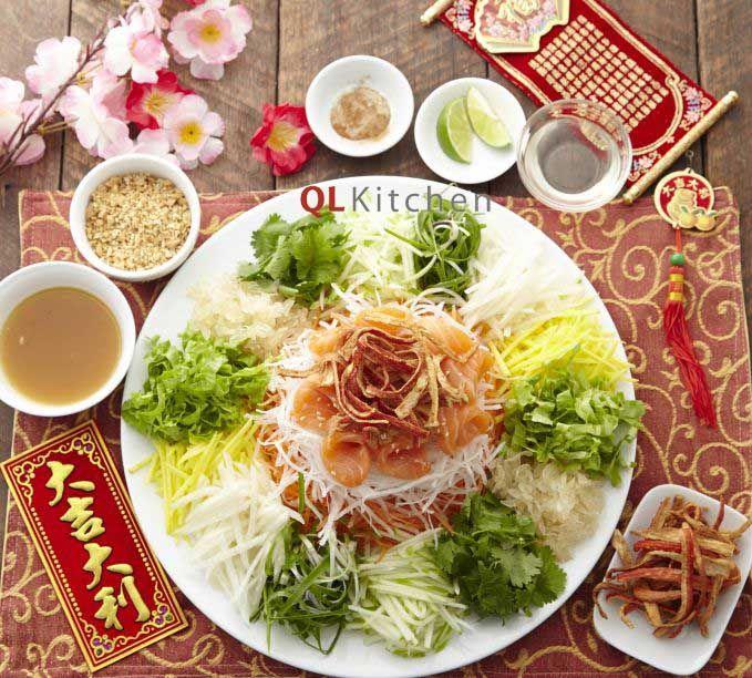 Recipes   Chinese Recipes   Lou Sang Recipe   RECIPES   Pinterest ...