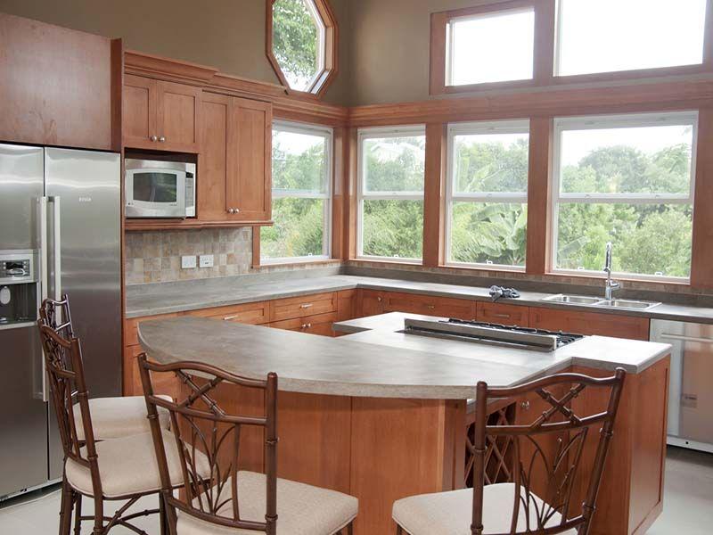 kitchen wid a view