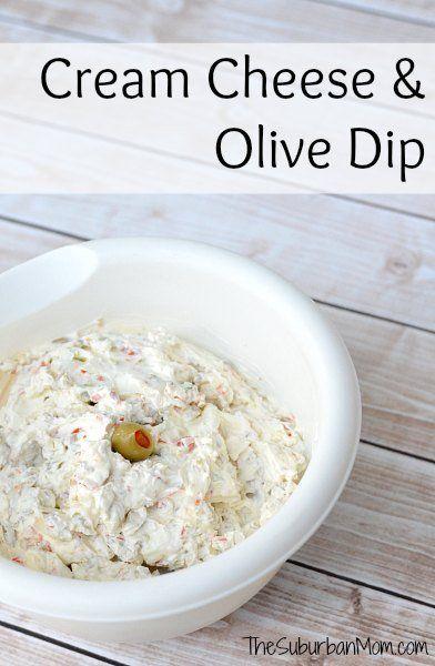 Granny S Cream Cheese And Olive Dip Recipe Thesuburbanmom Olive Dip Recipe Olive Dip Food