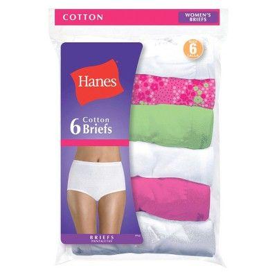 195741b9eab Hanes® Women's Briefs PP40WH 6-Pack - White 6 #Briefs, #Women ...