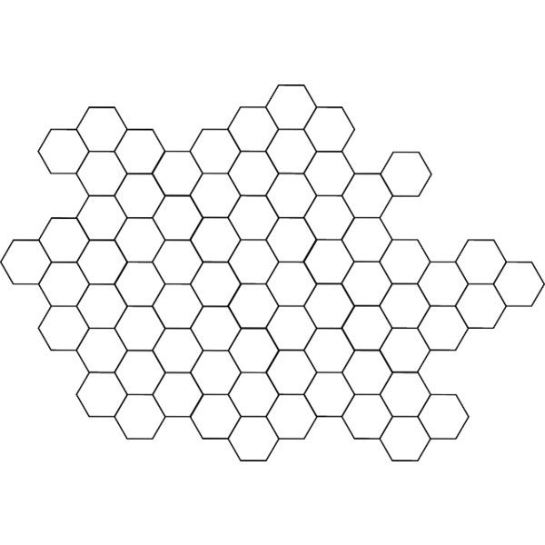 Pattern Bee Free Tile Hexagon Hive Beehive Png 640 443 Liked On Polyvore Featuring Fillers Fillers Sketches And Black Hexagon Tattoo Background Bee Free