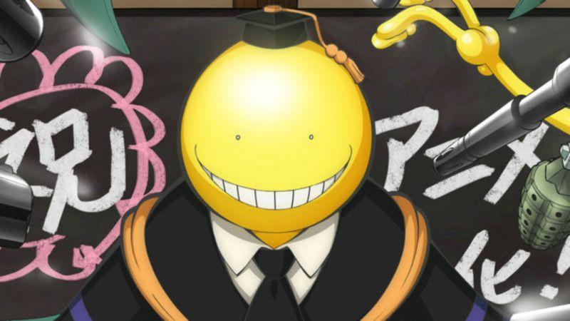 Funimation licenses assassination classroom film