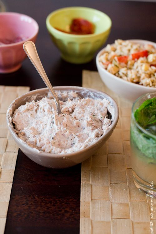 Tartinade Thon Sardine Recette Tartinade Alimentation Recette