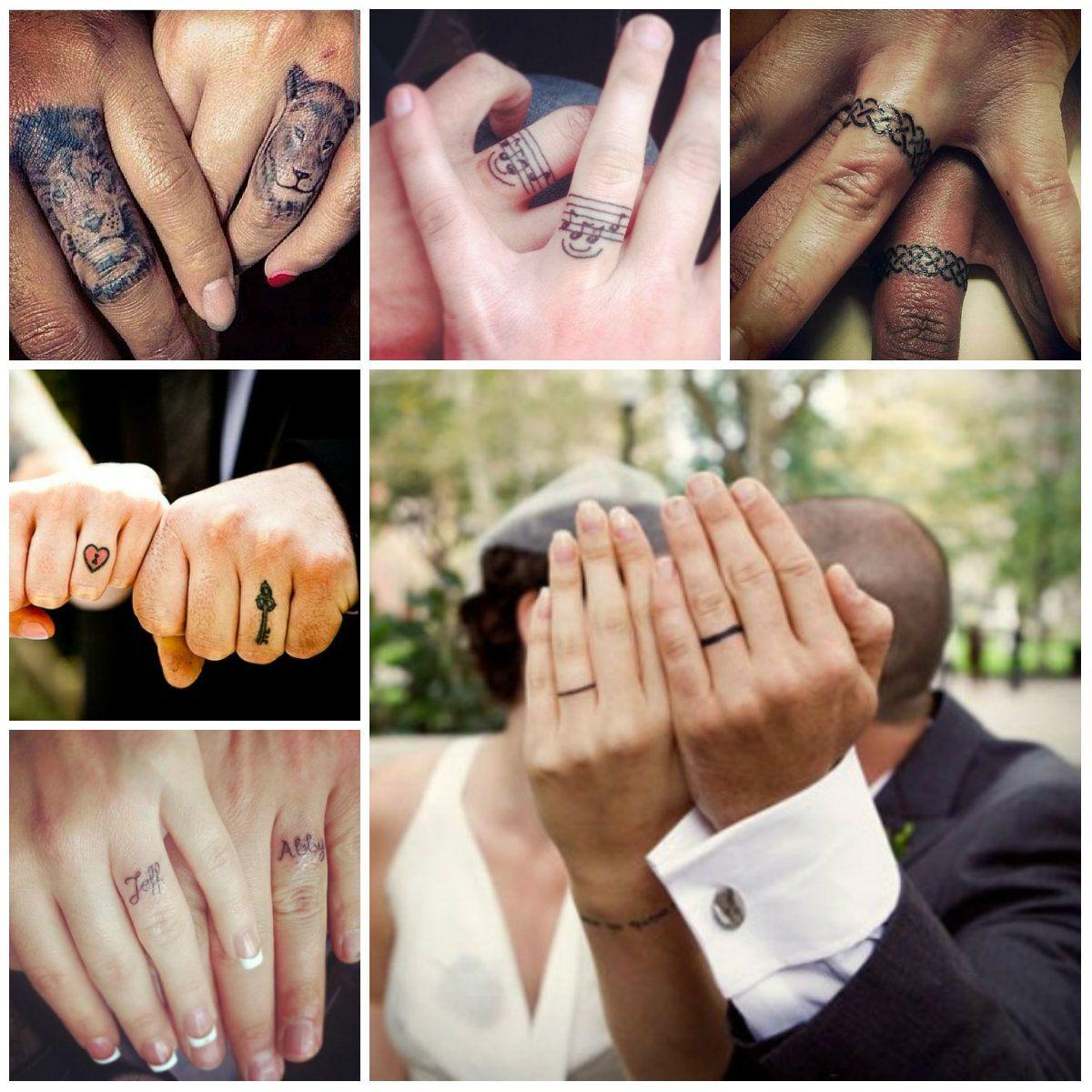 Amazing Wedding Ring Tattoos Tattoo Wedding Rings Amazing Wedding Rings Ring Tattoos
