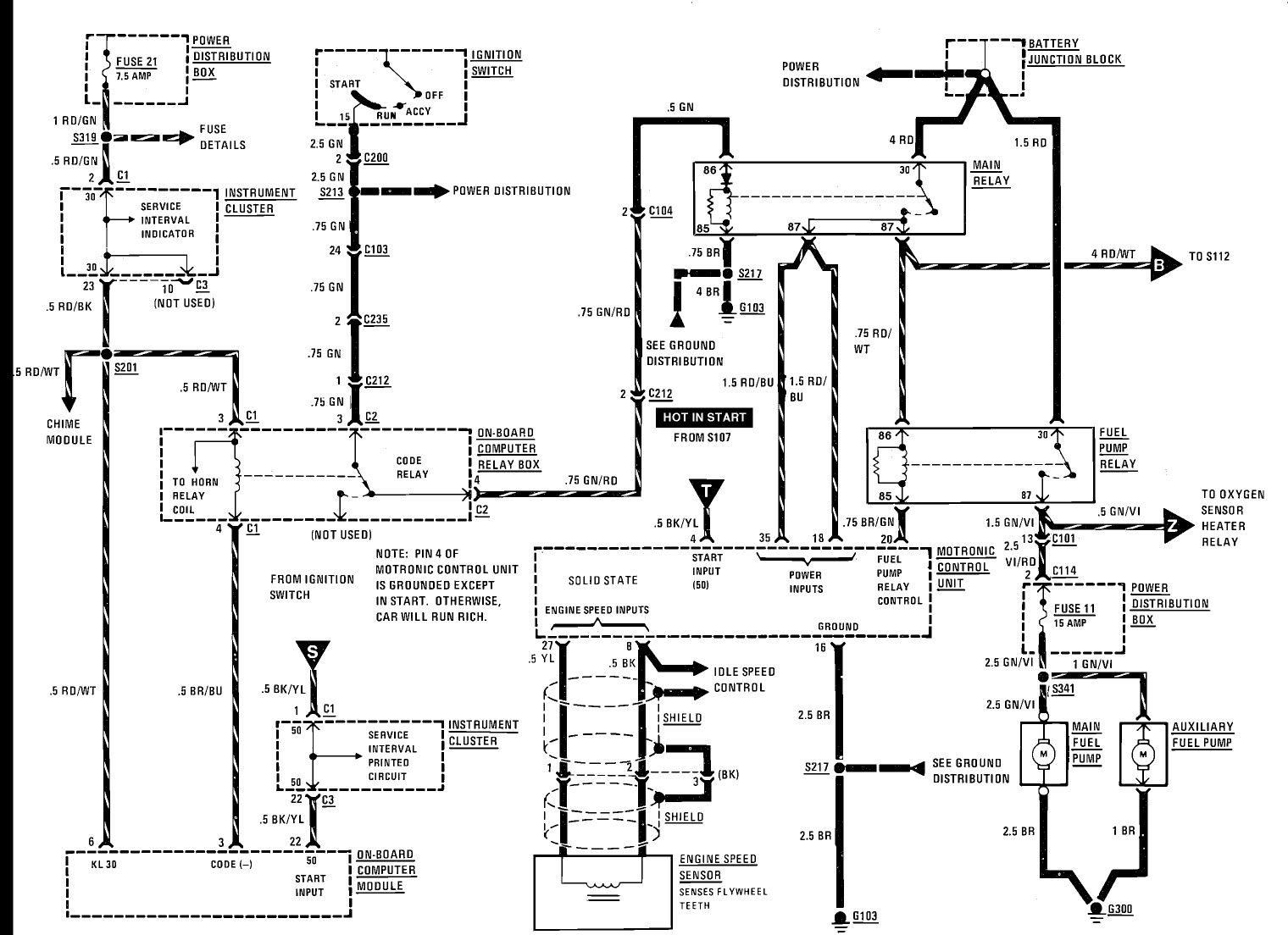 Bmw Abs Control Module And Wiring Diagram