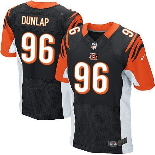 Nike Cincinnati Bengals  96 Carlos Dunlap Black Team Color Men s Stitched NFL  Elite Jersey 677c866cf
