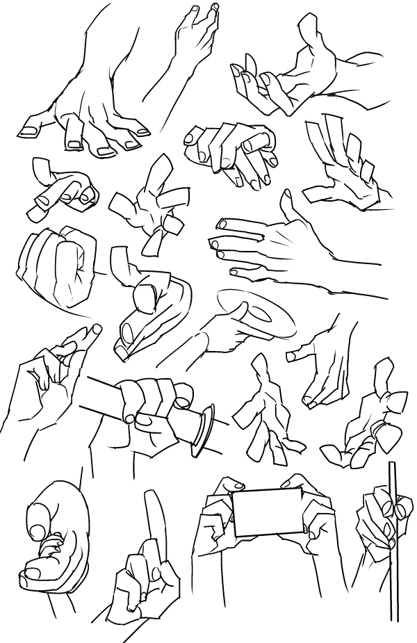 Pin by Simon J on Art- Hands | Pinterest | Anatomy, Drawings and Art ...