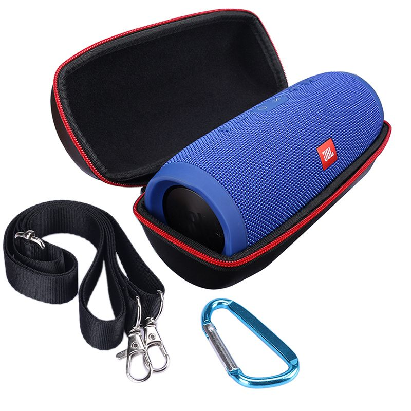 Portable Zipper Travel Hard Case Bag Protect Cover Holder Pouch Box For JBL Charge 3 Charge3 Bluetooth Speaker Accessories