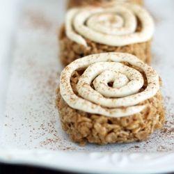 cinnamon roll rice krispies!