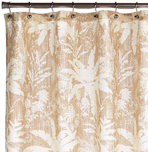 Tommy Bahama 200778 Cotton Shower Curtain Baylon Breeze Dune