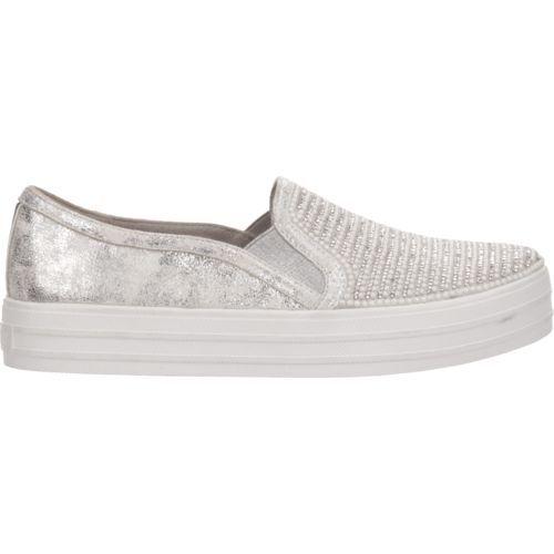 5114962aeae4 Skechers Women s Originals OG 97 Double Up Shiny Dancer Casual Shoes ...