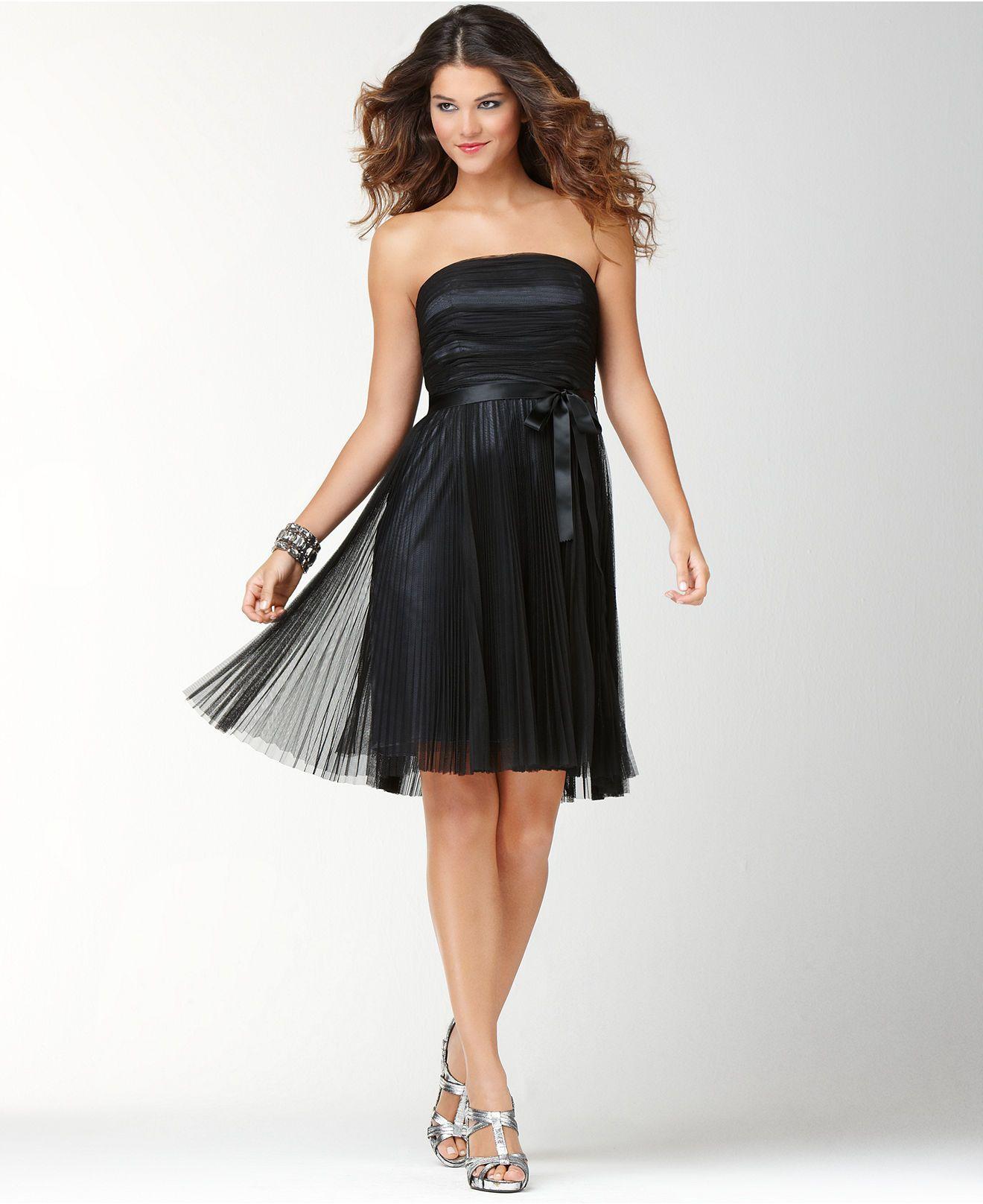 1f65a8c770 black dress macy s