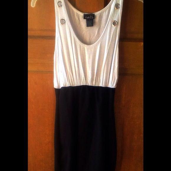 Rue 21 Black & White Dress Cute dress rue 21. Rue 21 Dresses