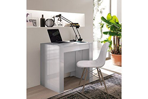 Home Innovation Table Console De Salle A Manger Extensible Jusqu A