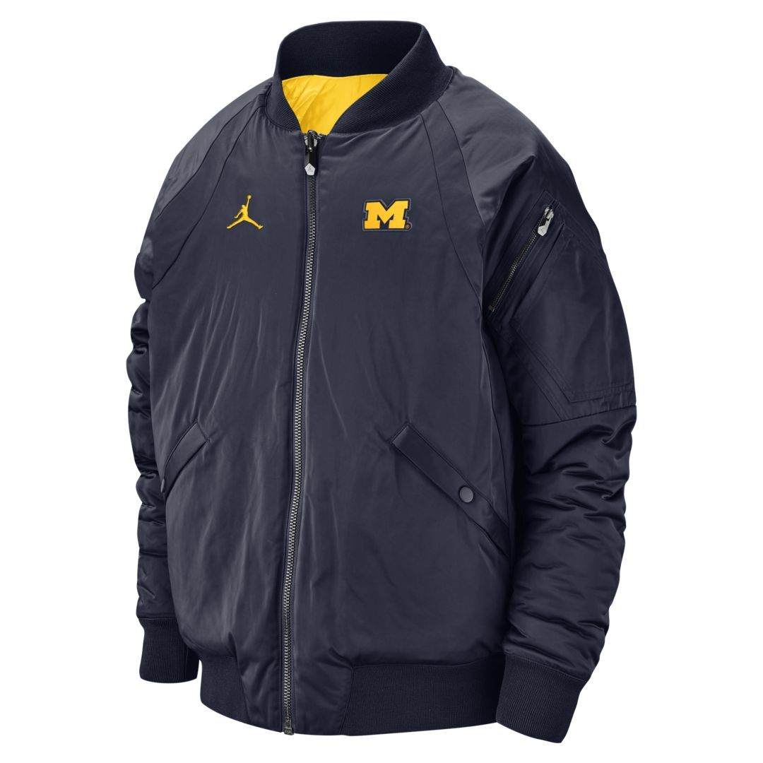 441c9462 Jordan College (Michigan) Men's Reversible Bomber Jacket   Products ...