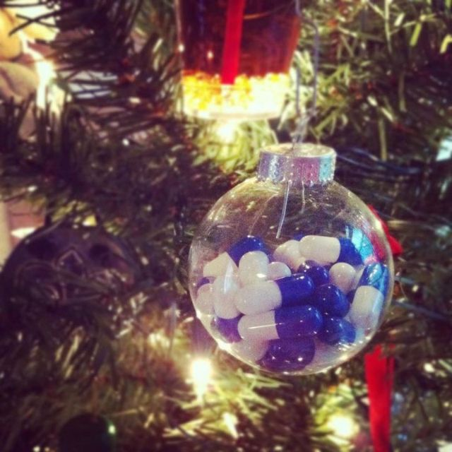 a perfect ornament for a pharmacist - Pharmacy Christmas Ornaments