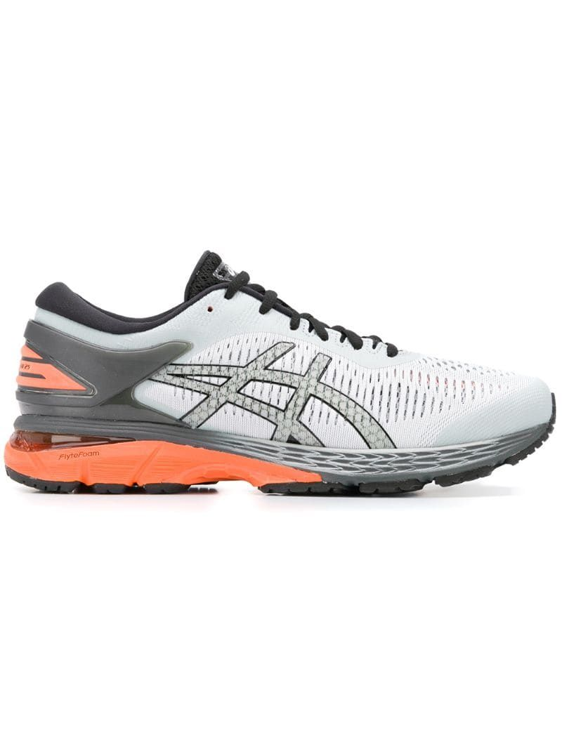 Asics Gel Kayano 25 Trail Sneakers Grey Products In 2019 Sneakers Running Shoe Brands Asics