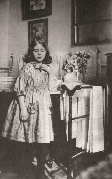 Future Queen of Denmark: Princess Ingrid Victoria Sofia Louise Margaretha of Sweden (1910-2000), daughter of Crown Prince Gustaf Adolf and Crown Princess Margaret. Mother of Queen Margrethe of Denmark.
