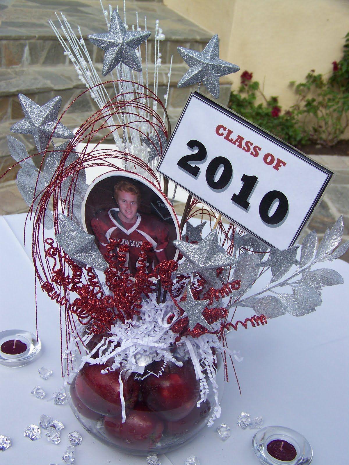 High School Graduation Memory Table Idea Decorations Http Jenniferstonebarger