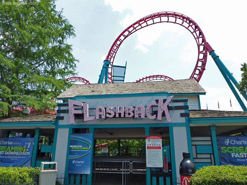 Flashback Six Flags Over Texas Arlington Texas Usa Six Flags Over Texas Six Flags Roller Coaster