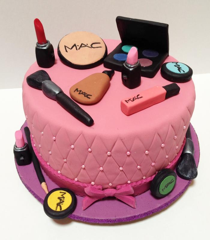D Makeup Cakes