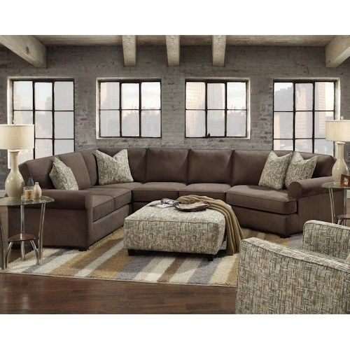 Shop For The Fusion Furniture 2900 Sectional With Right Cuddler At Pilgrim  Furniture City   Your Hartford, Bridgeport, Connecticut Furniture U0026  Mattress ...