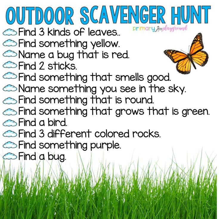 Photo of Scavenger Hunts – Primary Playground